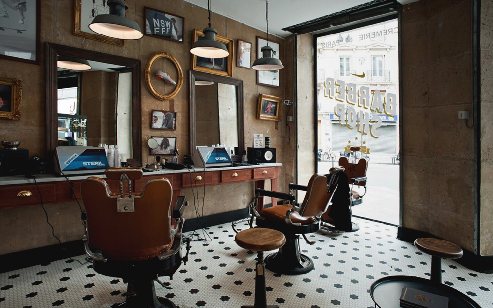 Nike Barber Shop Colin Cornwell Design Amp Art Direction