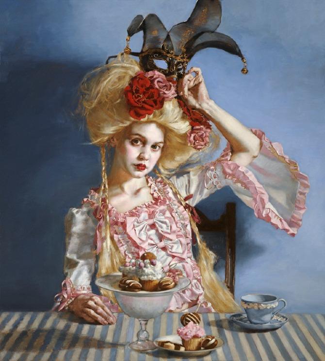 Neo Baroque & Carnivale - The Art of Teresa Oaxaca  Neo Baroque & C...